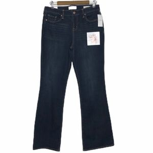 Jessica Simpson Flawless Mid Rise Boot Cut Jeans